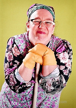 cleaning lady google image