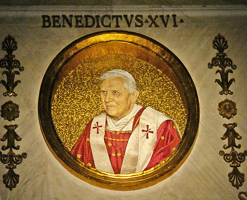 Pope Benedict flickr image
