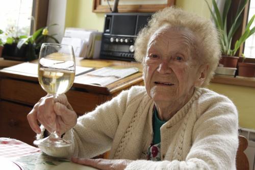 Julie Vasickova the oldest Czech person/ www.ceskenoviny.cz image