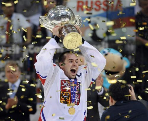 Czech hockey champions 2010 / www.ceskenoviny.cz image