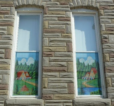 Baltimore painted screens google image
