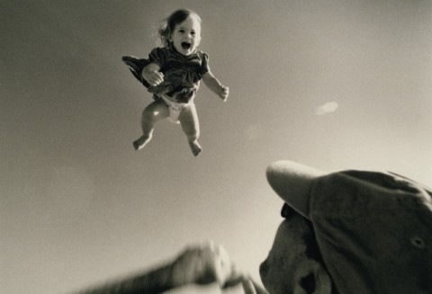 flying baby google image