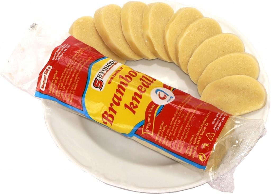 Czech potato dumplings image