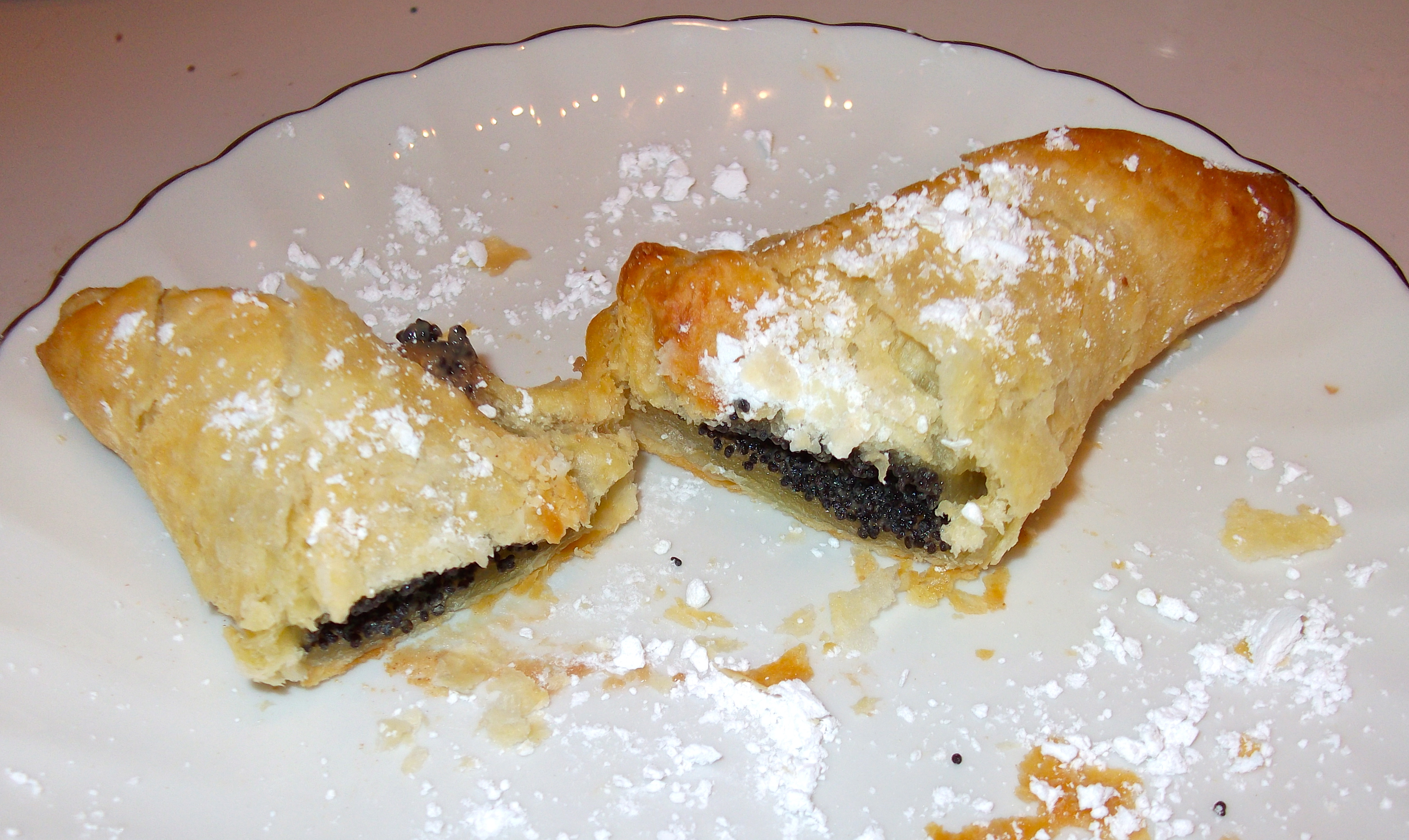 Quick and easy poppy-seed turnovers / Rychle makove satecky