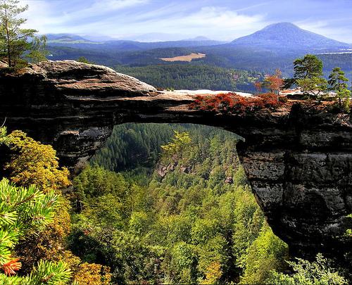 Czech Switzerland Rock Bridge Flickr Image