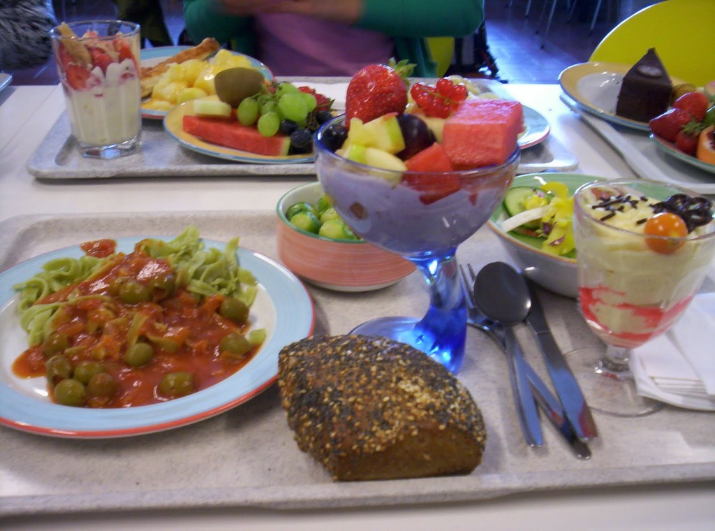 typical German school lunch