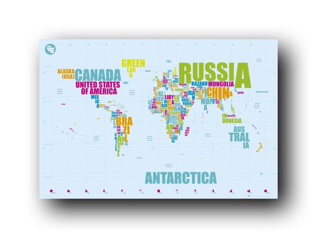 map of words google image